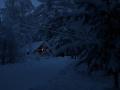 Рождественский домик в Карелии