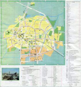 карта Бухара